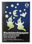 Nachtleuchtpapier, 2 Blatt (22 x 31 cm)
