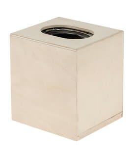 Caja de madera para pañuelos (125x115x140mm)