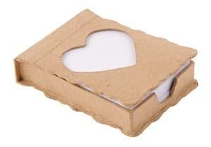 Boîte à feuilles en carton -Coeur-, A...,