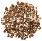 Pailletten, 1200 Stück gold (6 mm)