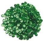Pailletten/lovertjes (6 mm) 1200 stuks, groen