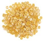Sequins ronds, Diam. 6 mm, 1..., AB jaune