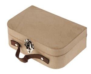 Valise en carton, dim. 200 x 70 x 130 mm