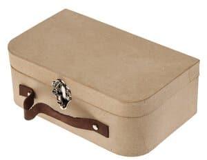Valise en carton, dim. 250 x 90 x 150 mm