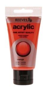 Acrylverf Reeves (75 ml) oranje