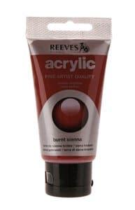Acrylfarbe Reeves,  75 ml siena gebrannt