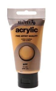 Acrylverf Reeves (75 ml) goud