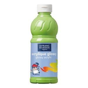 Acrylfarbe glänzend Glossy, 500 ml anisgrün