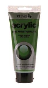 Acrylverf Reeves (200 ml) chroomoxidegroen