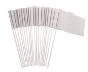 Papieren vaantjes, 20 stuks