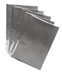 Effectfolie, A4, zilver, 5 vel