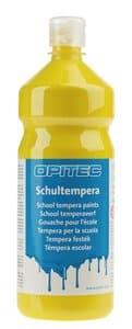 Opitec schoolplakkaatverf citroengeel, 1000 ml