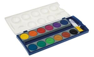 Pelikan® Deckfarbenkasten, 12 Farben, 1 Deckweiß