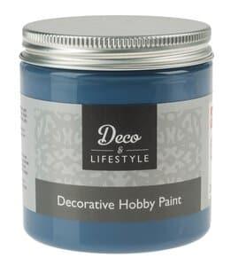 Hobbyverf, 230 ml, antiek blauw