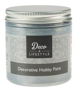Hobbyfarbe, chalk 230 ml silber