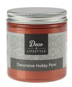 Hobbyfarbe, chalk 230 ml kupfer