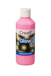 Nachtleuchtfarbe Creall Glow, 250 ml pink