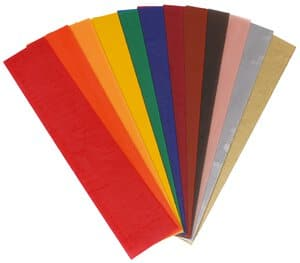 Wachsplatten, 12 Farben (200 x 40 mm)