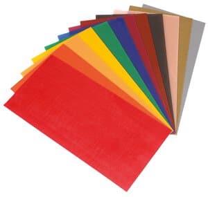Wachsplatten, 12 Farben (100 x 200 mm)