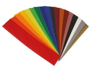Wachsplatten, 18 Farben (200 x 40 mm)