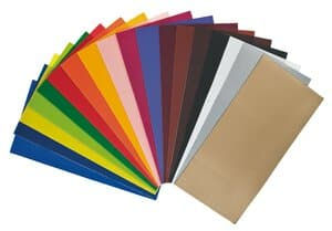 Wachsplatten, 18 Farben (200 x 100 mm)