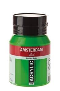 Amsterdam Acrylfarbe 500 ml, permanentgrün hell