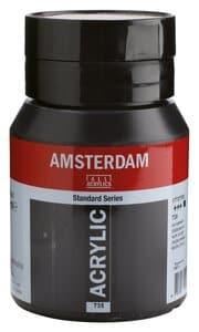 Amsterdam Acrylfarbe 500 ml, oxidschwarz