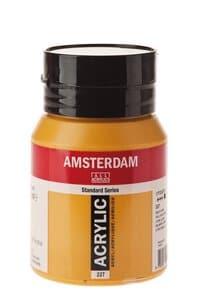 Amsterdam Acrylfarbe 500 ml, ockergelb