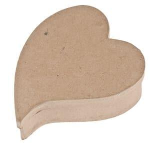 Boîte en carton -Coeur ailé-, Avec co...,