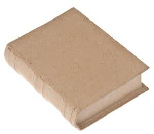 Paper-Art box - boek (11 x 15 x 3,5 cm)