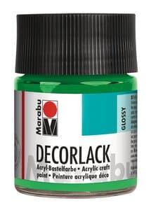 Decorlack Marabu,  50 ml hellgrün