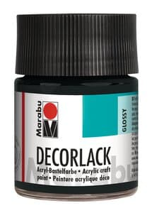 Marabu Decorlak (50 ml) zwart