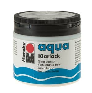 Vernis acrylique brillant Marabu, 500 ml