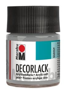 Marabu Decorlak (50 ml) metallic zilver
