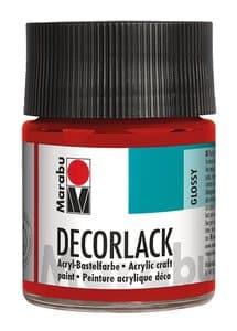 Marabu Decorlak (50 ml) kersenrood