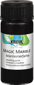 Marmorierfarbe Magic Marble, 20 ml schwarz