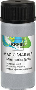 Marmorierfarbe Magic Marble, 20 ml silber