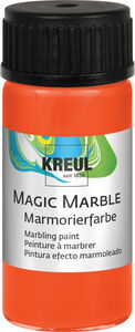 Marmorierfarbe Magic Marble, 20 ml orange
