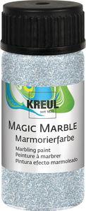Marmerverf Magic Marble (20 ml) glitter zilver
