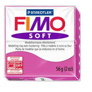 Fimo soft boetseerklei (57 g) framboos