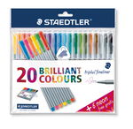 STAEDTLER triplus color fineliner, 26er-Set