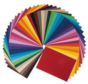 Lote económicopapel color/cartulina, 230x330m 50 h