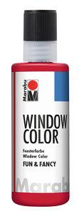 Peinture Window Color Fun & Fancy Marabu , rubis