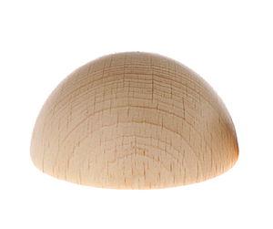 Holz-Halbkugel (50 mm)