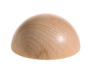 Holz-Halbkugel (60 mm)