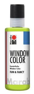 Peinture Window Color Fun & Fancy Marabu , réséda