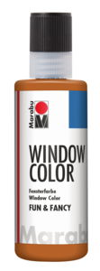 Peinture Window Color Fun & Fancy Marabu , brun cl