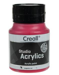 Creall acrylverf (500 ml) magenta-rood