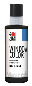 Window Color Fun & Fancy,  80 ml Kontur schwarz