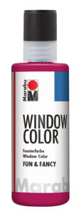 Peinture Window Color Fun & Fancy Marabu , bordeau